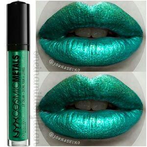 NYX Cosmic Metals Metallic Lip Cream